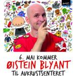 Øistein Blyant på Aukrustsenteret 6. mai