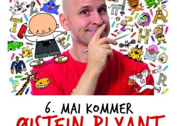 Øistein Blyant på Aukrustsenteret 6. mai!