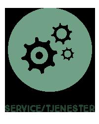Service og tjenester