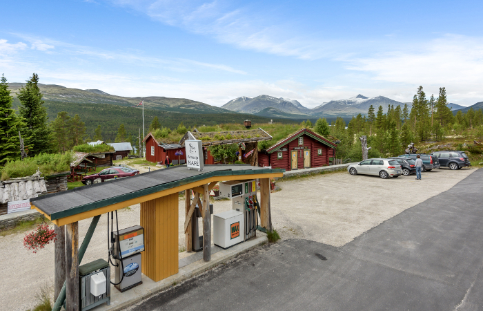 Atnasjø kafe_fasade_foto Inviso_Fotograf Reidar Valberg